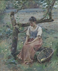 day dreams by theodore robinson