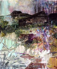 the hallucinations of poets (dandelion) by hernan bas