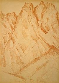 waxenstein by marsden hartley
