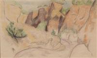 the little arroyo by marsden hartley