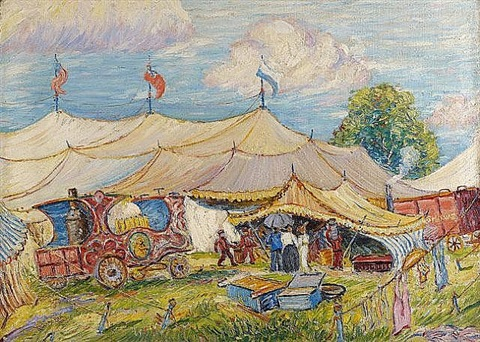 the mighty haag circus by reynolds beal