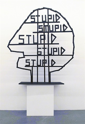 stupid by olaf breuning