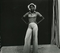 my hat and bellbottoms by malick sidibé