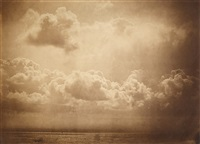 seascape with clouds by gustave le gray