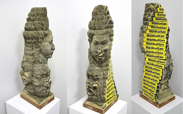 dna-buddha by long-bin chen