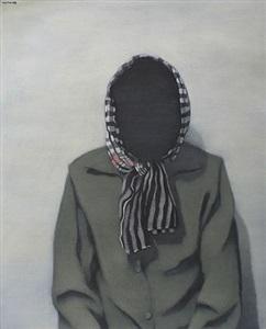 black painting no.10 by tuan thai nguyen