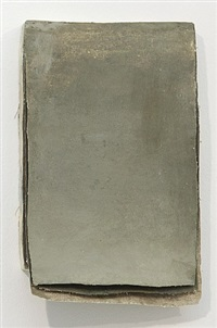 "ohne titel (calendar ""smokey gray"") / untitled (calendar ""smokey gray"") by lawrence carroll"
