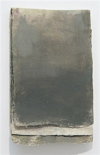 "ohne titel (calendar ""darkbrown grays"") / untitled (calendar ""darkbrown grays"") by lawrence carroll"