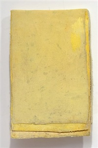 ohne titel (calendar yellow #4) / untitled (calendar yellow #4) by lawrence carroll