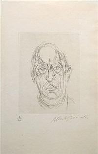 portrait du poete orbandale by alberto giacometti