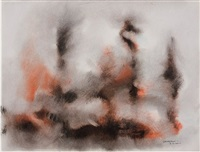 untitled abstraction by norman lewis