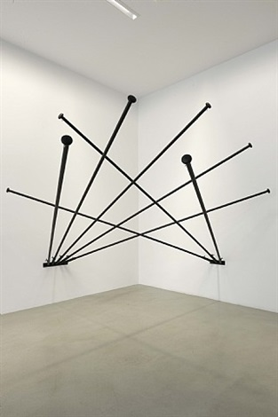 fantasia (empty flag, black) by latifa echakhch