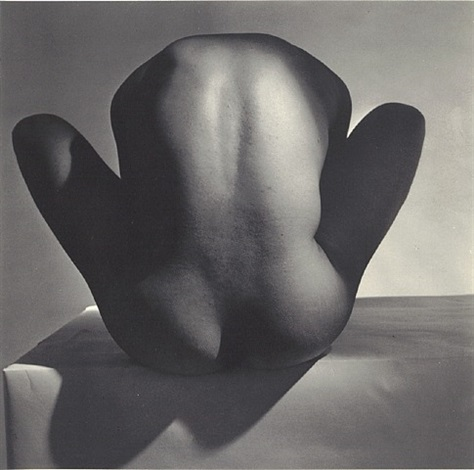 male nude ii (backside) 1952 by horst p. horst