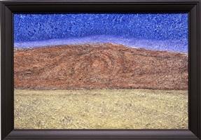 landscape with mine by richard artschwager