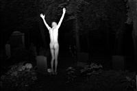 habitat for humanity / self portrait dancing in berlin cemetery by terence koh