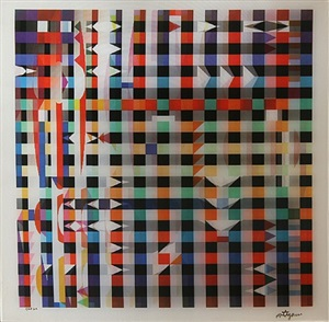 yucatan magic by yaacov agam