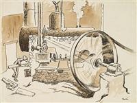 steam generator by thomas hart benton