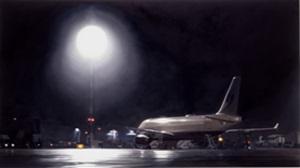 flughafen (dus nacht) by frank bauer
