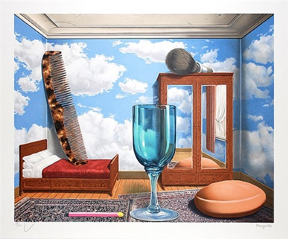 les valeurs personelles (personal values), series 2 by rené magritte