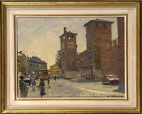 castel vecchio, verona by ken howard