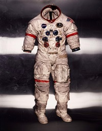 alan shepard's lunar suit, apollo 14, nasa by albert watson
