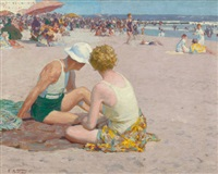 a summer vacation by edward henry potthast
