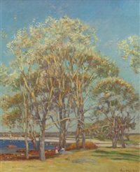 ipswich, marshes by theodore wendel