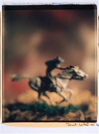 untitled (from the series wild west) by david levinthal