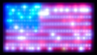 flag by leo villareal