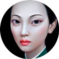 beijing girl series no. 10 by zhang xiangming