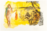 untitled (rays) by eric fischl