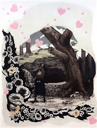 vignette (wishing well) by kerry james marshall