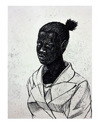 untitled (woman) by kerry james marshall