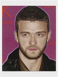 justin timberlake by richard phillips