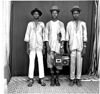 young fulani shepherds, mali by malick sidibé