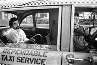 martin scorsese in back of robert deniro's cab,