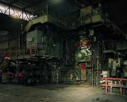 hot rolling mill, thyssenkrupp steel, duisburg by thomas struth