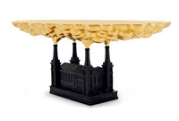 robber baron table (view 2) by studio job