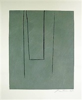 slate gray pintura (cr. 183) by robert motherwell