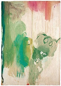 snow pines by helen frankenthaler