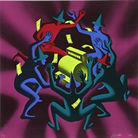 cash dance by mark kostabi