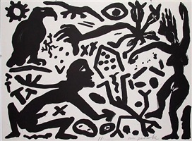 situation now, b&w by a.r. penck