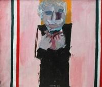 cuore (portrait d'edmundo d'amicis) by eduardo arroyo