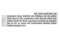 heisenberg – die bedeutung des schönen in der exakten naturwissenschaft 1992 (aus der serie 'anstreichungen') by peter piller