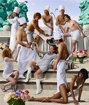 the feast of trimalchio: allegory 2 (tryumph of asia) by aes+f group