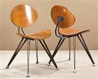 set of 8 chairs by ron arad by ron arad