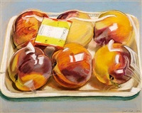 peaches by janet fish