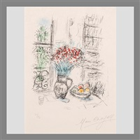 les roses pompons by marc chagall