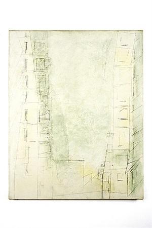 manhattan skyscrapers by lyonel feininger