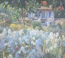 jardin de fleurs blanches by nicholas verrall